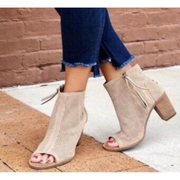 Toms Shoes   Majorca Peep Toe Bootie